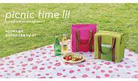 Сумка для обедов. Термостойкая сумка. Стильная сумка холодильник. Сумка для детского питания. Код: КЮ22
