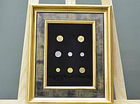 Оформление монет, медалей, орденов, наград в рамку