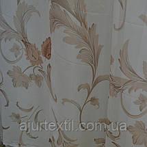 """Тюль печать """"Ветки цветов"""", фото 3"""