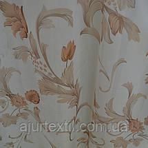 """Тюль печать """"Ветки цветов"""", фото 2"""