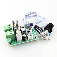 Контроллер регулятор скорости вращения двигателя постоянного тока 12V-36V 5A 25 кГц, фото 1