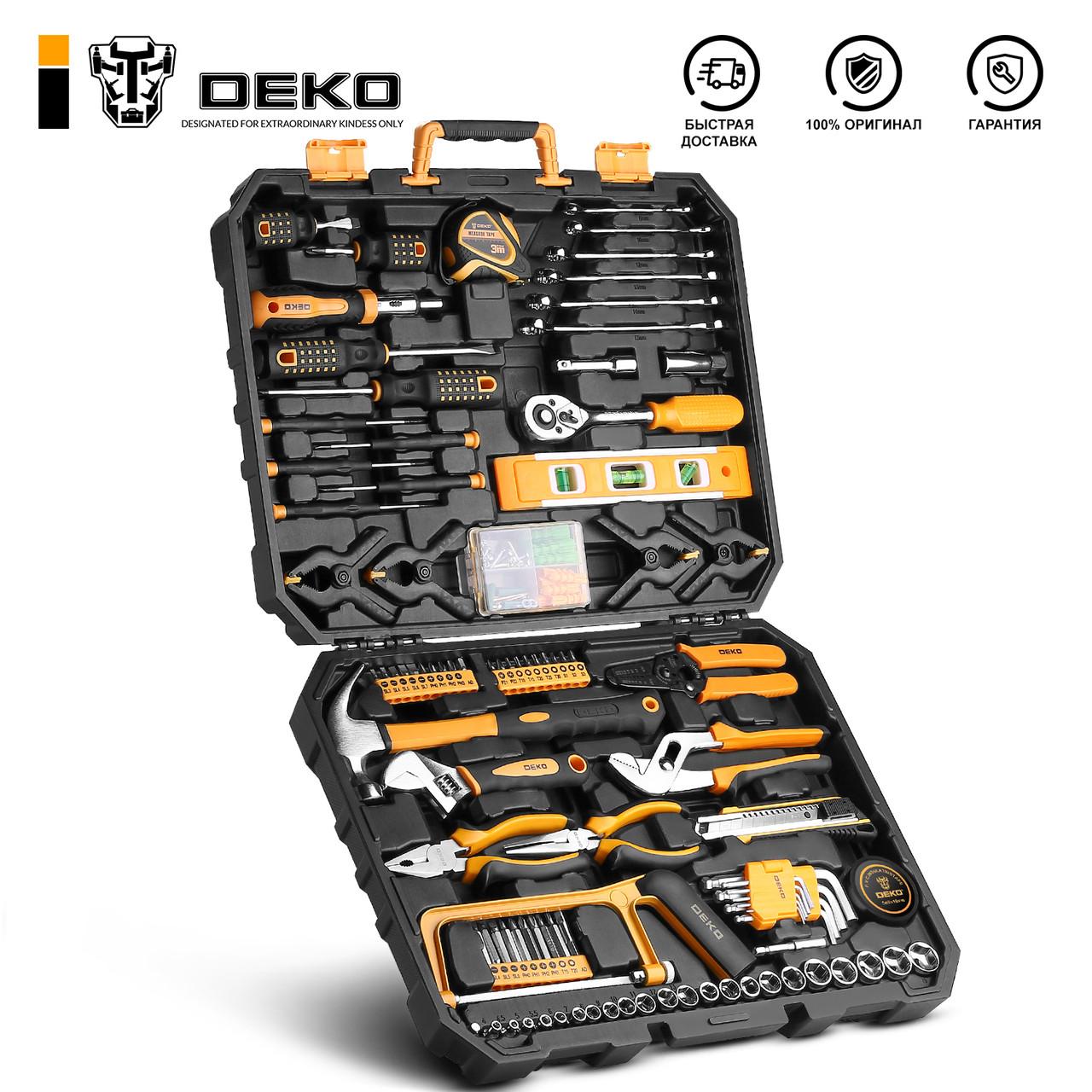 Набор инструментов DEKO DKMT168 (168шт.)