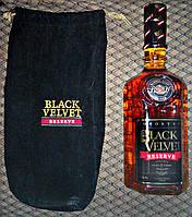 Канадский виски Black Velvet Reserve 8YO в подарочном мешочке