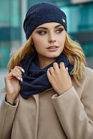 Комплект шапка і шарф-снуд Ангел, фото 1