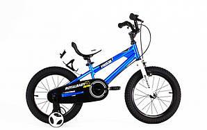 "Велосипед RoyalBaby FREESTYLE 16"", OFFICIAL UA, синий (RB16B-6-BLU)"