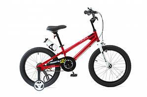 "Велосипед RoyalBaby FREESTYLE 18"", OFFICIAL UA, красный (RB18B-6-RED)"
