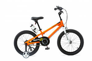 "Велосипед RoyalBaby FREESTYLE 18"", OFFICIAL UA, оранжевый (RB18B-6-ORG)"