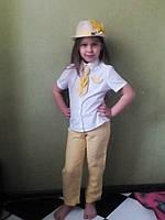 Костюм пшенички прокат Киев, костюм колосок прокат, фото 1