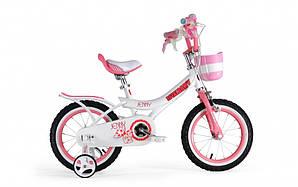 "Велосипед RoyalBaby JENNY GIRLS 18"", OFFICIAL UA, белый (RB18G-4-WHT)"