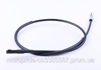 Трос спидометра L-1070mm (верх квадрат - внутрення резьба, низ вилка - под болт) - ТАКТ