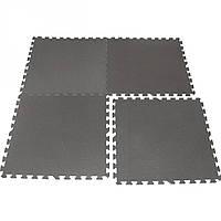 Защитный коврик для кардиотренажера (1 секция) 100*100*1 см (EM3019-10)