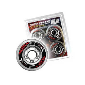 Колеса для роликових ковзанів Tempish CATCH 64x24 82A (10100023)