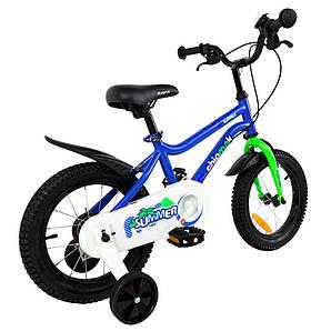"""Велосипед детский RoyalBaby Chipmunk MK 12"""", OFFICIAL UA, голубой (CM12-1-blue)"""