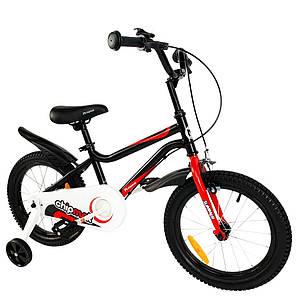 """Велосипед детский RoyalBaby Chipmunk MK 14"""", OFFICIAL UA, черный (CM14-1-black)"""