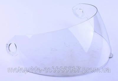 Стекло шлема А105 прозрачное (узкое)
