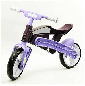 Беговел Real Baby, коричнево-фіолетовий (KB7500/PURPLE/BROWN)