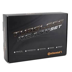 Бескамерный набор Continental 25mm (лента, ниппель, клей) (140092)