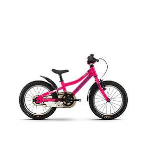 "Велосипед Haibike SEET Greedy 16"", рама 26 см, розовый-голубой-белый, 2020 (4100006921)"