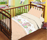 Комплект детского постельного белья ТМ TAG Сладских снов беж.