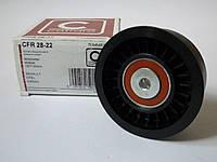 Направляющий ролик ремня ГРМ  на Renault Trafic 2,5 dCi (135+146 л.с.) с 2003... Caffaro (Польша), CFR28-22, фото 1