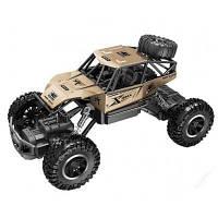 Радиоуправляемая игрушка Sulong Toys OFF-ROAD CRAWLER ROCK SPORT Золотой 1:20 (SL-110AG)