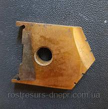Пластина к перовому сверлу (перо) D  32 мм (2000-1214) Р6М5  Орша