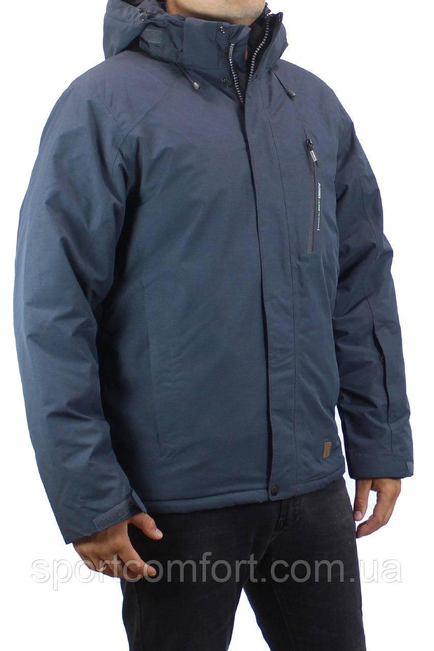 Куртка горнолыжная мужская Snow серая