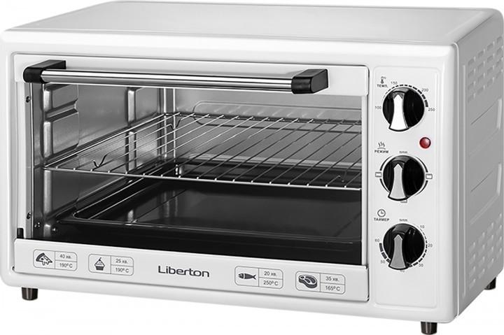 Электрическая печь LIBERTON LEO-350 White