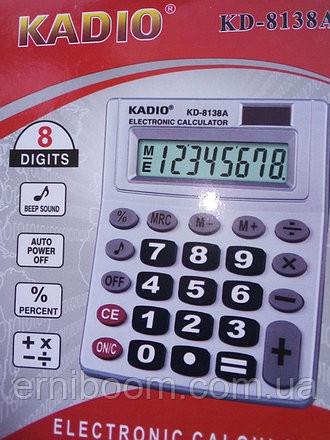 Калькулятор KADIO 8138А