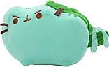 Комплект Мягкая игрушка кот дракон Pusheen cat и Антистресс игрушка Mokuru Green-White (n-719), фото 3