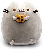Комплект Мягкая игрушка кот с печеньем Pusheen cat и Антистресс игрушка Mokuru (n-723), фото 2