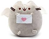 Комплект Мягкая игрушка кот с письмом Pusheen cat и Антистресс игрушка Mokuru (vol-725), фото 4