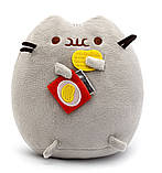 Комплект Мягкая игрушка кот с чипсами Pusheen cat и Антистресс игрушка Mokuru (n-726), фото 4