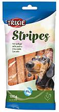 Лакомство Stripes с птицей для собак