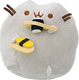 Комплект Мягкая игрушка кот с суши Pusheen cat и Антистресс игрушка Mokuru (vol-728), фото 3