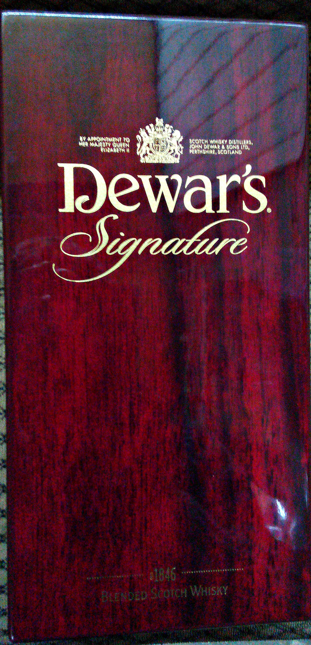 Шотландский виски Dewars Signature 43% 0,75л , фото 1
