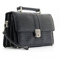 Черная мужская сумка барсетка кожаная Desisan des-523-143, фото 1