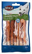 Палочки витые дентафитовые с курицей для собак 12,5 см 6 шт