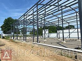 Ангар 18х48х6 Двускат, зернохранилище, склад, цех, сто.