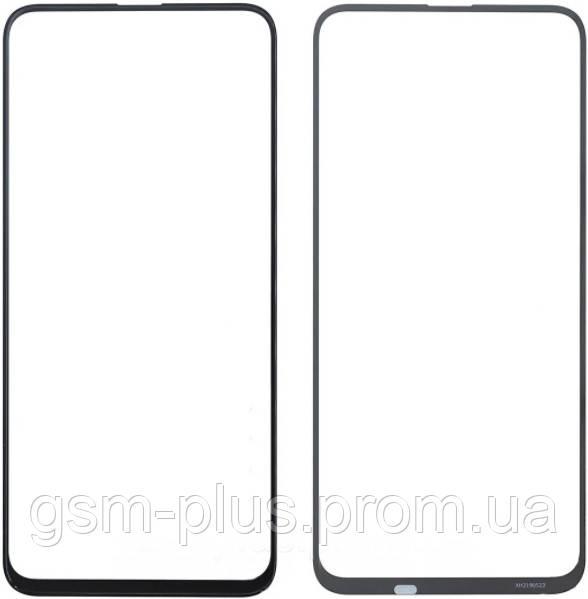 Стекло дисплея Huawei Honor 9X Pro Black (для переклейки)