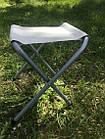 Раскладной туристический стол для пикника 120 см со 4 стульями, алюминиевый, фото 7