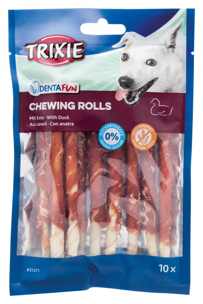 Палочки витые дентафитовые с уткой для собак 12,5 см 10 шт