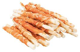 Палочки витые дентафитовые с курицей для собак 12,5 см 30 шт