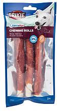 Палочки витые дентафитовые с уткой для собак 17 см 3 шт