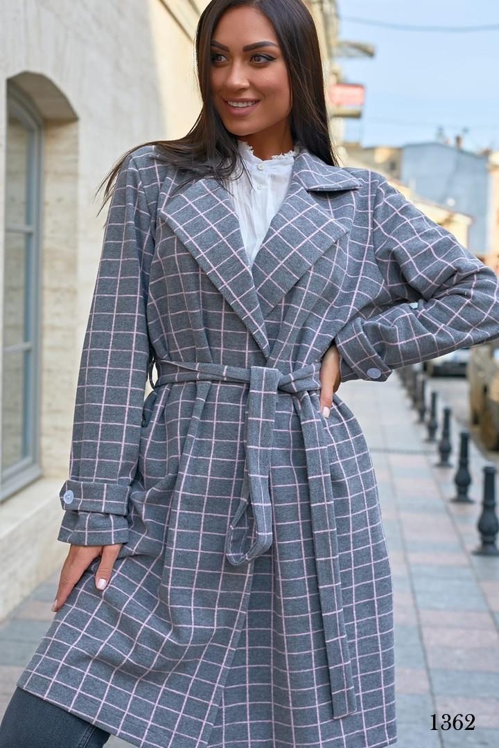 Пальто без подкладки трикотажный кашемир 48-50,52-54,56-58,60-62