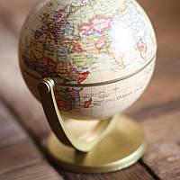 Настольный сувенирный глобус мира Wellamart (Арт. 5757)