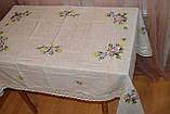 Скатертина льон 150 -220, фото 2