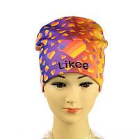 """Шапка трикотажна для дівчинки """"Likee"""""""