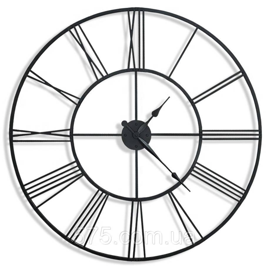 Большие настенные металлические часы Weiser Venice 1000