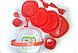Столовый набор для пикника 48 предмета Picnic Package 48-ОМ красный, фото 2